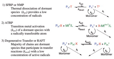 Controlled/Living Radical Polymerization. Progress in ATRP, NMP, and RAFT