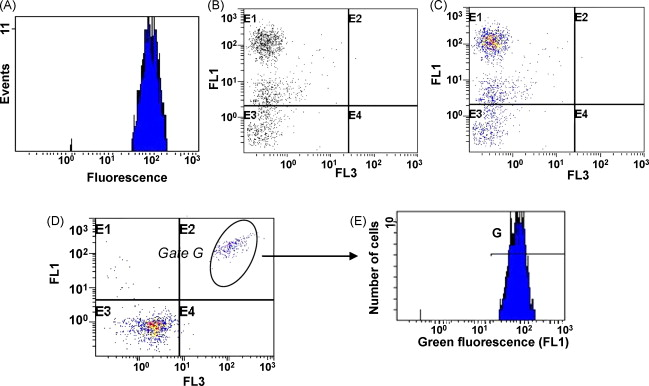 Application of flow cytometry to industrial microbial