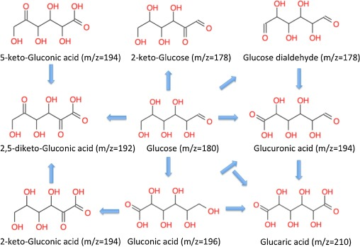 Selective oxidation of glucose to glucuronic acid by cesium ...