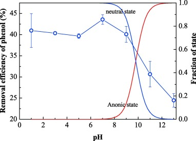 adsorption behavior of phenol by reversible surfactant modified rh sciencedirect com