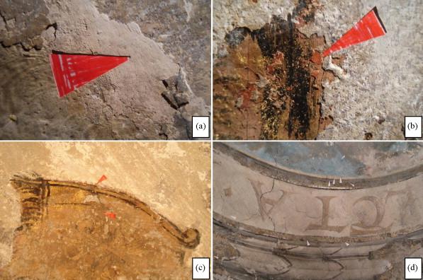 In situ investigations of vault paintings in the Antwerp