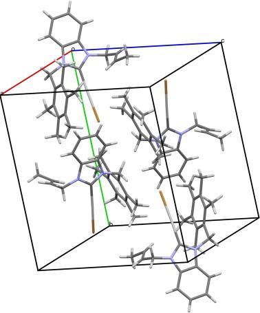 1 Pentamethylbenzyl 3 Nbuthylbenzimidazolesilveribromide Complex