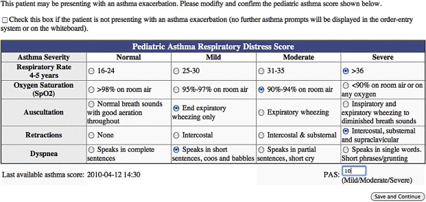 implementation and evaluation of an integrated computerized asthma