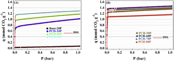 Evaluation of porous clay heterostructures modified with