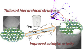 Tailoring the hierarchical architecture of beta zeolites