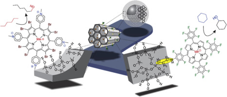 Manganese porphyrins immobilized on magnetic SBA-15