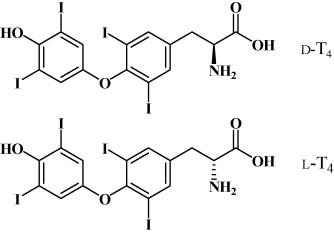 Kinetic Method For Enantiomeric Determination Of Thyroid Hormone