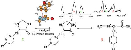 Tyrosine side-chain catalyzed proton transfer in the YG a2