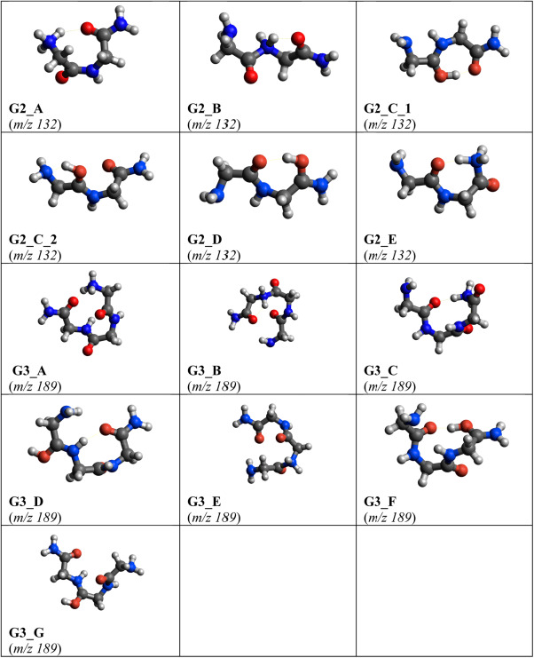 Collision-induced dissociation pathways of protonated