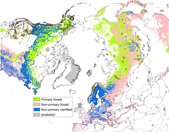 Mapping certified forests for sustainable management - A global tool ...