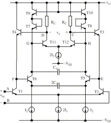 A 10 7-MHz fully balanced, high-Q, 107-dB-dynamic-range current