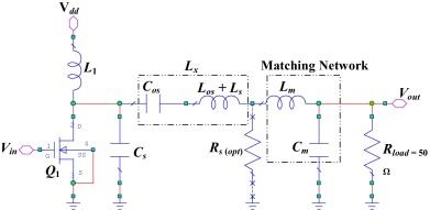 Toward a fully integrated 2 4 GHz differential pair class-E