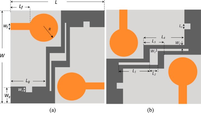 A compact double-sided MIMO antenna with an improved isolation for