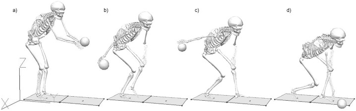 The influence of bowling velocity on movement variability in