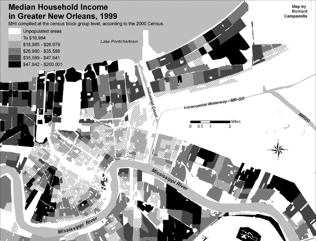 Mapping Knowledge Investments In The Aftermath Of Hurricane Katrina