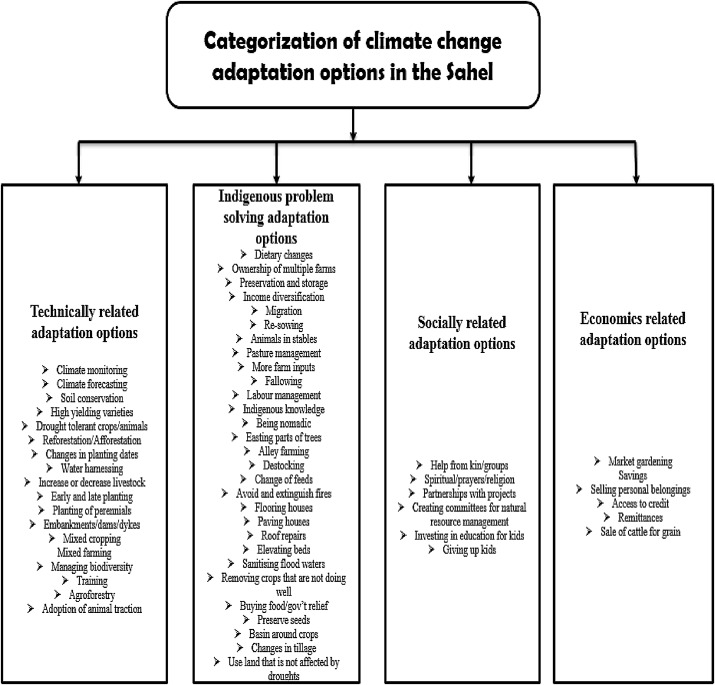 Climate change adaptation in the Sahel - ScienceDirect
