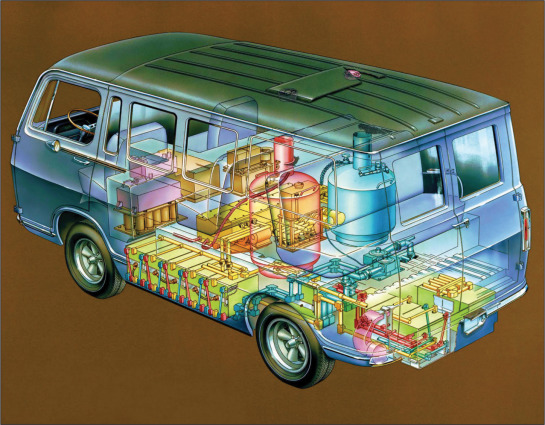 Gm Marks 50 Years Of Fcev Development From Electrovan To Chevrolet