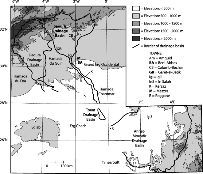 Cenozoic Stratigraphy Of The Sahara Northern Africa ScienceDirect - Groundwater prospect map of egypt's qena valley