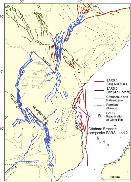 History of the development of the East African Rift System: A series on