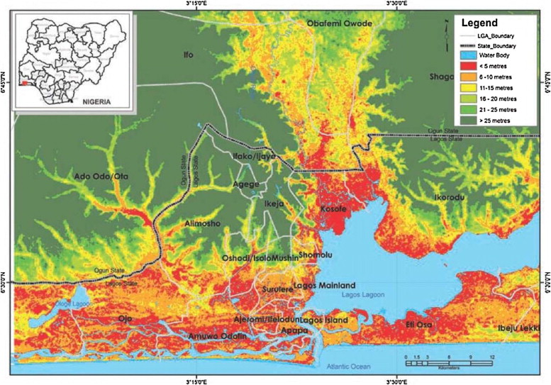 Urban Geology Of African Megacities ScienceDirect - Groundwater prospect map of egypt's qena valley