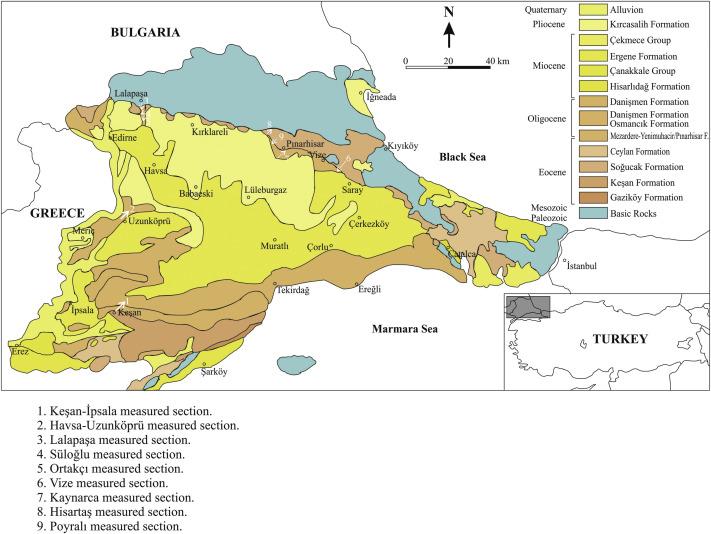 The Ostracoda assemblage of the EoceneOligocene transition in