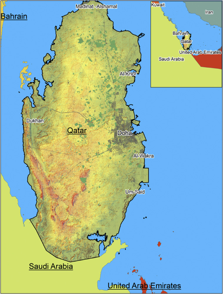 Doha Map Pdf