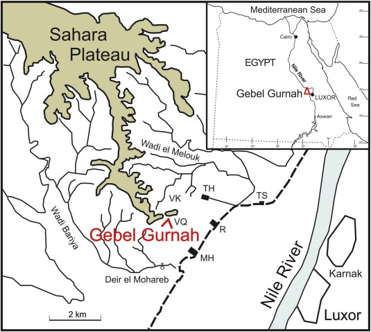 Anatomy of a mountain: The Thebes Limestone Formation (Lower