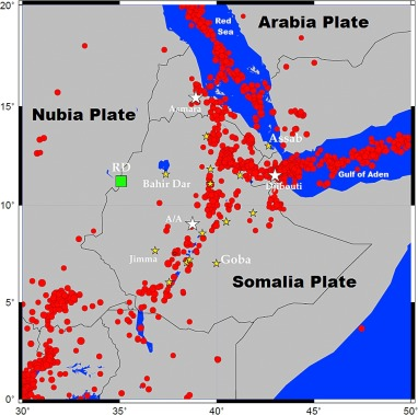 Probabilistic seismic hazard analysis (PSHA) for Ethiopia
