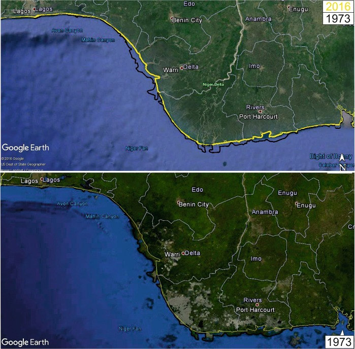 Vulnerability of the Nigerian coast: An insight into sea level rise