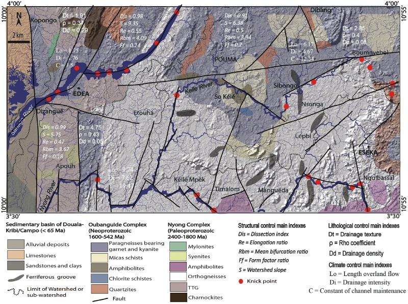 Tectonics Lithology And Climate Controls Of Morphometric