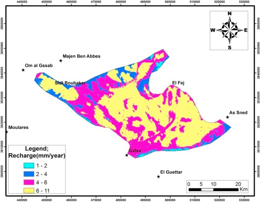 Mapping potential zones for groundwater recharge and its evaluation