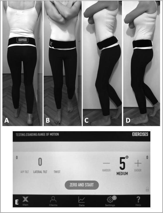 Active pelvic tilt is reduced in athletes with groin injury