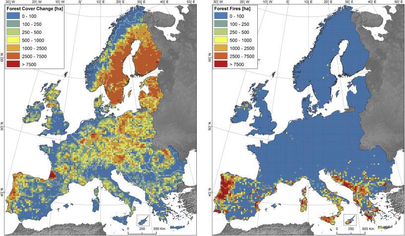Assessment of the cover changes and the soil loss potential in ...