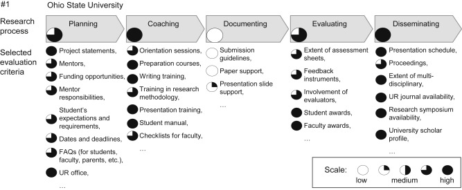 Undergraduate research experiences: Identifying lessons