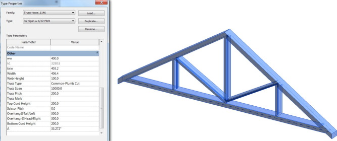 Parametric as-built model generation of complex shapes from