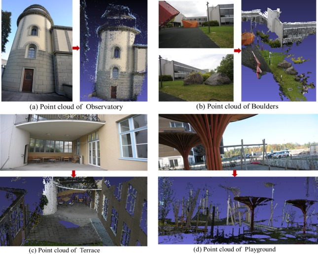 Three-dimensional (3D) reconstruction of structures and