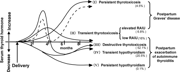 Thyroid dysfunction following pregnancy and implications for breastfeeding  - ScienceDirect
