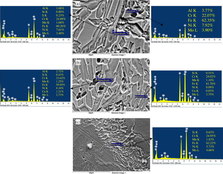 Metallurgical and mechanical characterization of dissimilar welds of