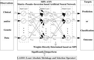 A novel artificial neural network method for biomedical prediction
