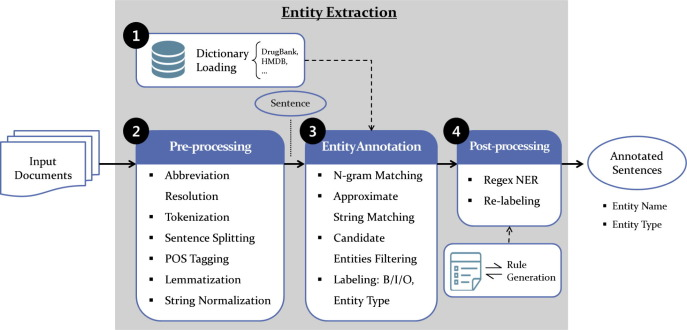 PKDE4J: Entity and relation extraction for public knowledge