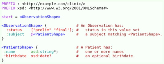 Modeling and validating HL7 FHIR profiles using semantic web