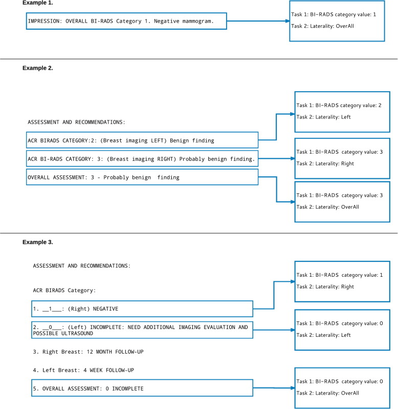 Automated annotation and classification of BI-RADS ...