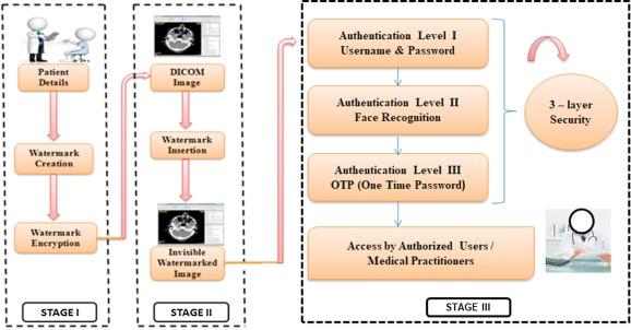 Networked medical data sharing on secure medium – A web publishing
