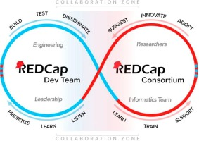 The REDCap consortium: Building an international community of