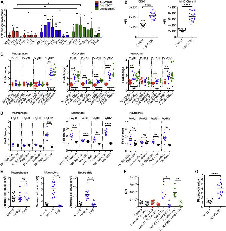 Antibody Tumor Targeting Is Enhanced by CD27 Agonists