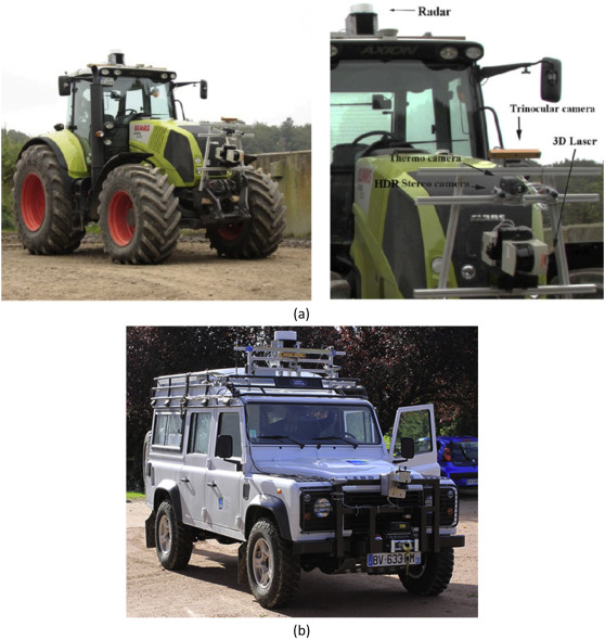 Ambient awareness for agricultural robotic vehicles