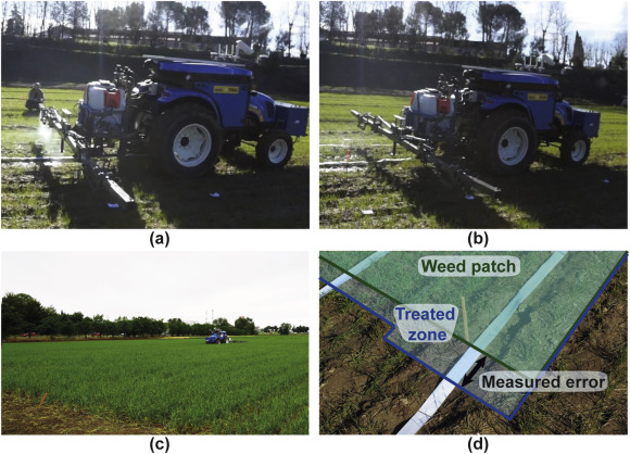 Autonomous systems for precise spraying – Evaluation of a robotised
