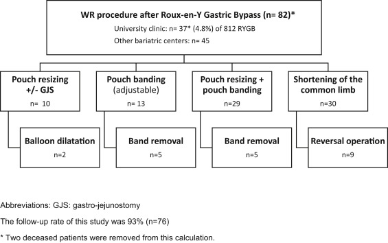 Surgical Therapy of Weight Regain Following Roux-en-Y Gastric Bypass