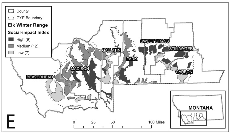 Land Use Diversification and Intensification on Elk Winter