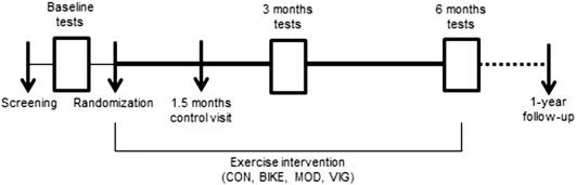 The GO-ACTIWE randomized controlled trial - An interdisciplinary